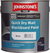Quick Dry Matt Blackboard Paint