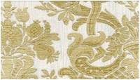 M95553 Milano Damask White/GOld